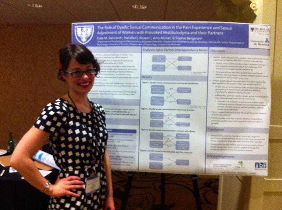Kate Rancourt at the Society for Sex Therapy and Research (SSTAR) annual meeting in Pittsburgh, April 2014