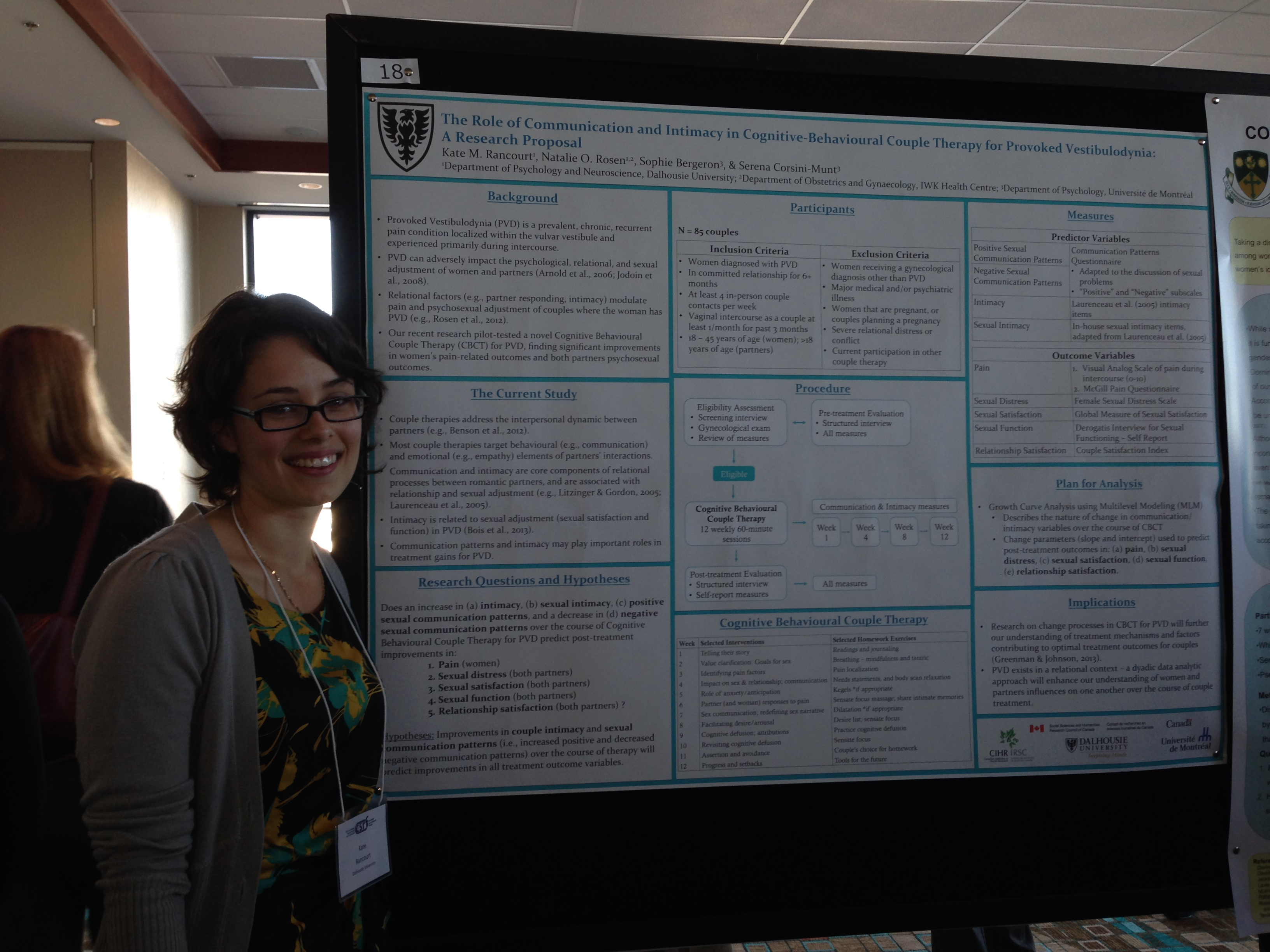 Kate Rancourt at the Canadian Sex Research Forum, PEI, 2013