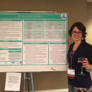 Kate Rancourt with her Award-winning Poster at SSTAR 2016, Chicago IL