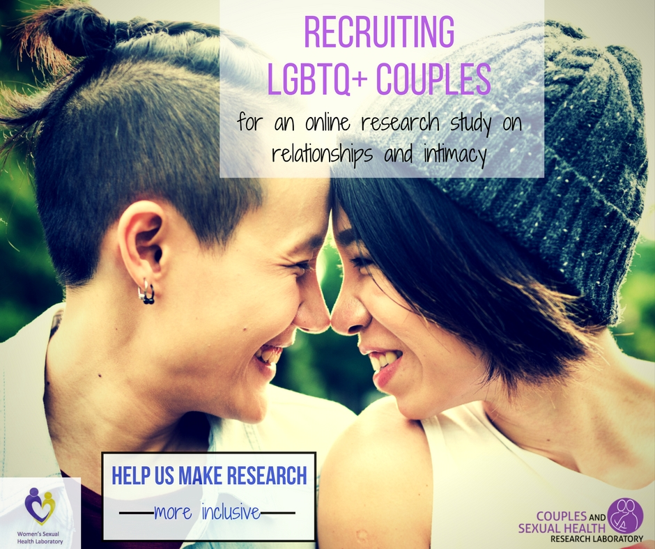 Sexual Intimacy and Wellbeing Study