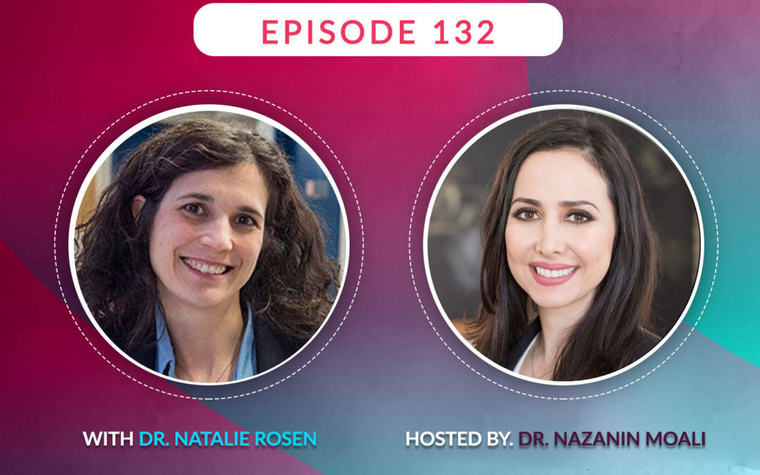 Dr. Rosen discussing sexual interest and arousal issues on Sexology Podcast Epi. 132 with Dr. Nazanin Moali