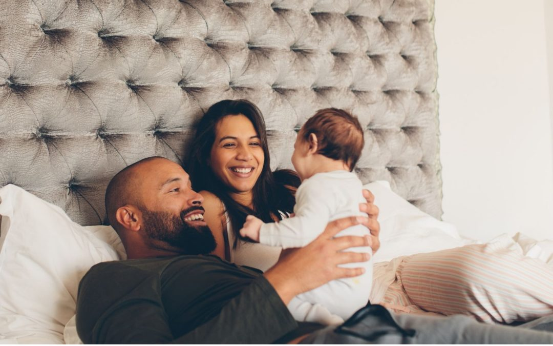 Are new parents less stressed when they're more sexually satisfied?