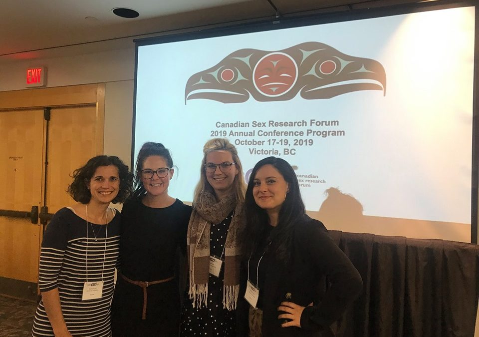 CaSH Lab was Well Represented at CSRF's 2019 Conference in Victoria